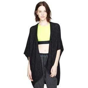 Community by Aritzia Washed Black Ionic Cape